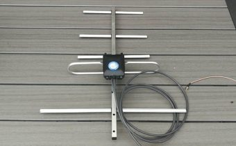 Lacná yagi anténa na UHF pásmo