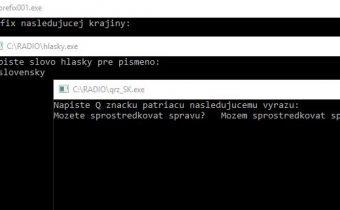 Príprava na skúšky pri PC – program QR kódy, hláskovanie, prefixy