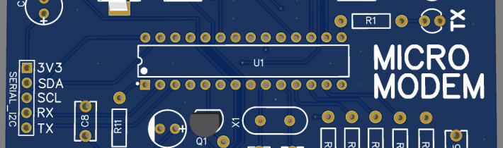 Projekt – APRS Micromodem