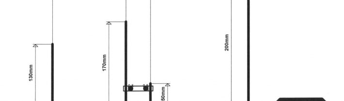 Anténa HB9RU pre UHF pásmo