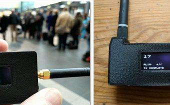 Počítadlo mobilných telefónov lacnou doskou s ESP32